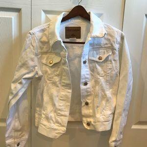 LondonJean white jeans jacket